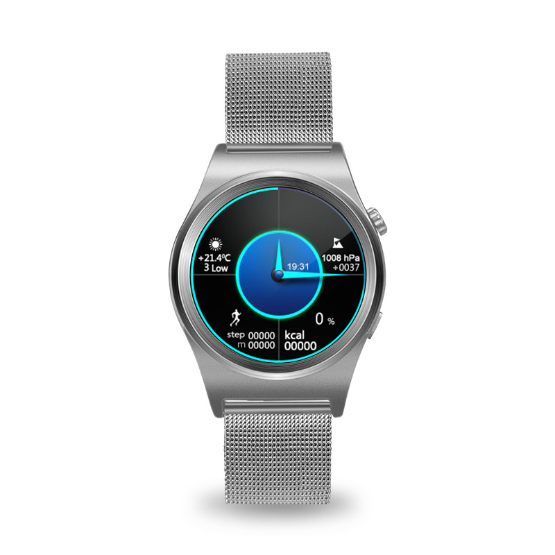 Smartch Sport X10 smart watch with IPS round screen heart rate monitor Altimeter montre connecter for Android IOS phone Tracker