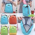 2016 Hot New Insulated Tote Lunch Bag Picnic Box Waterproof Canvas Cooler Thermal Food Drinks Hand bag lunchbox For Adults Kids