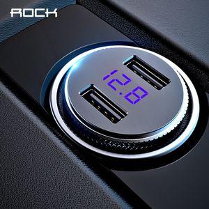 ROCK Mini Dual USB Car Charger
