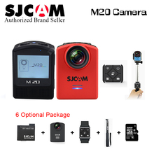SJCAM M20 Wifi Gyro Sport Action Camera HD 2160P 16MP 4K 4K 24fps Waterproof DV Bluetooth watch self timer lever remote control