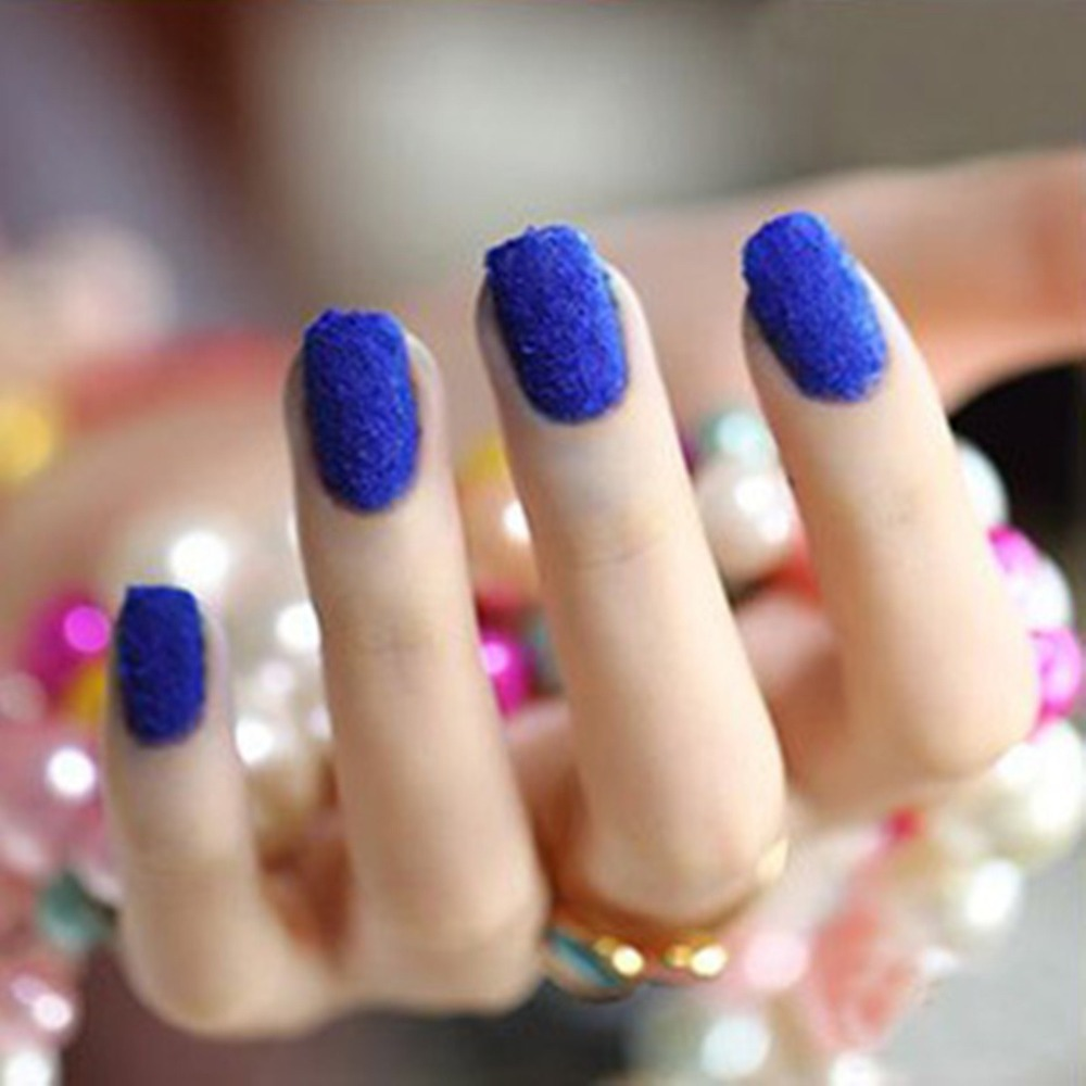 Newest Kit/Set 2 Nail Art Color Blue Navy Dark 10ml Gel UV Polish+ ...