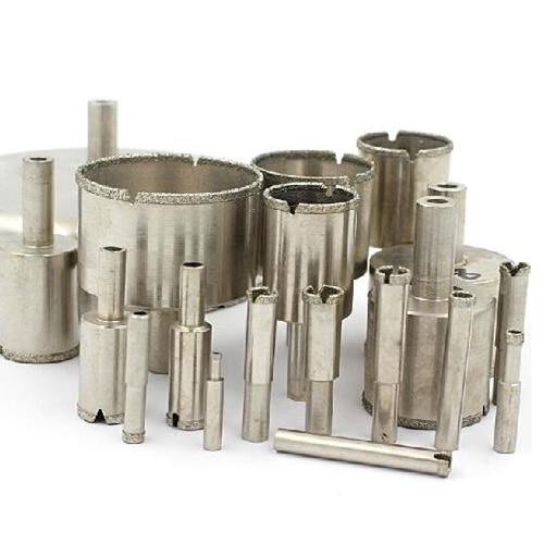 2016 ابزارهای جدید قدرت 12PCS / مجموعه 4mm تا 15mm مته هسته مته الماس مته مته سوراخ بیت کاشی شیشه سوراخ لوازم جانبی باز
