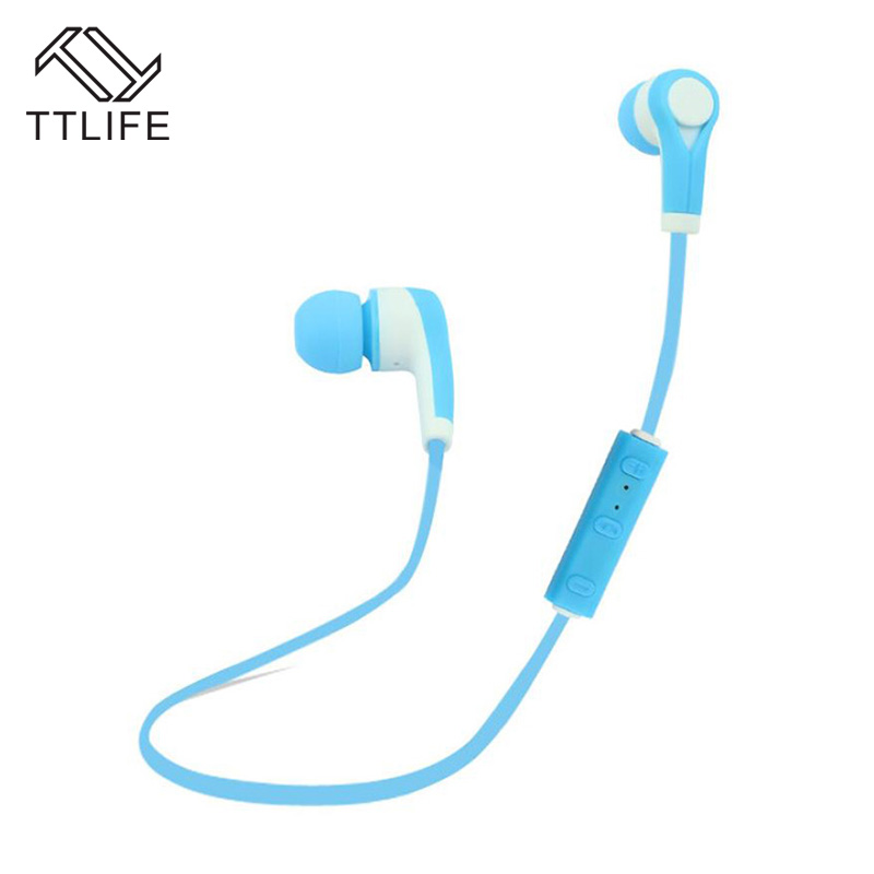 TTLIFE Bluetooth 4.1 Wireless Headphones Stereo Sports Handsfree Sweatproof Earphone With Mic Fone De Ouvido for iPhone 7 xiaomi
