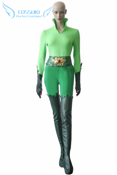 Newest High Quality Batman And Robin Poison Ivy Uniform Cosplay Costume Perfect Custom For You