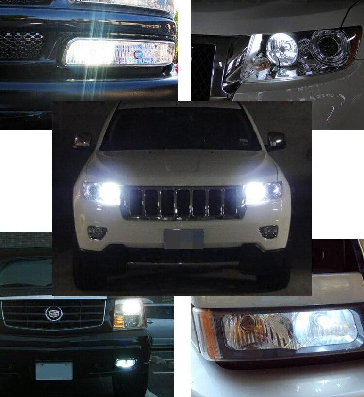 2pcs H10 9145 Led Fog Light Front For Dodge Ram 1500 2500 3500 4500