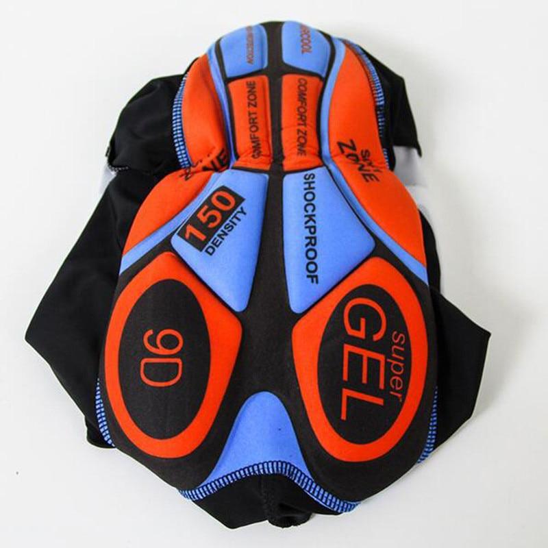 Zomer triathlon schaatspak mannen korte mouw fietsen kleding 9D GEL pad MTB bike body pak blauw skinsuits ropa ciclismo hombre