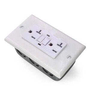 Image 3 - GFCi USA US standard Power Socket,Universal Plug Socket Port Power Adapter Outlets,Tamper Resistant Duplex Receptacle,Auto Test