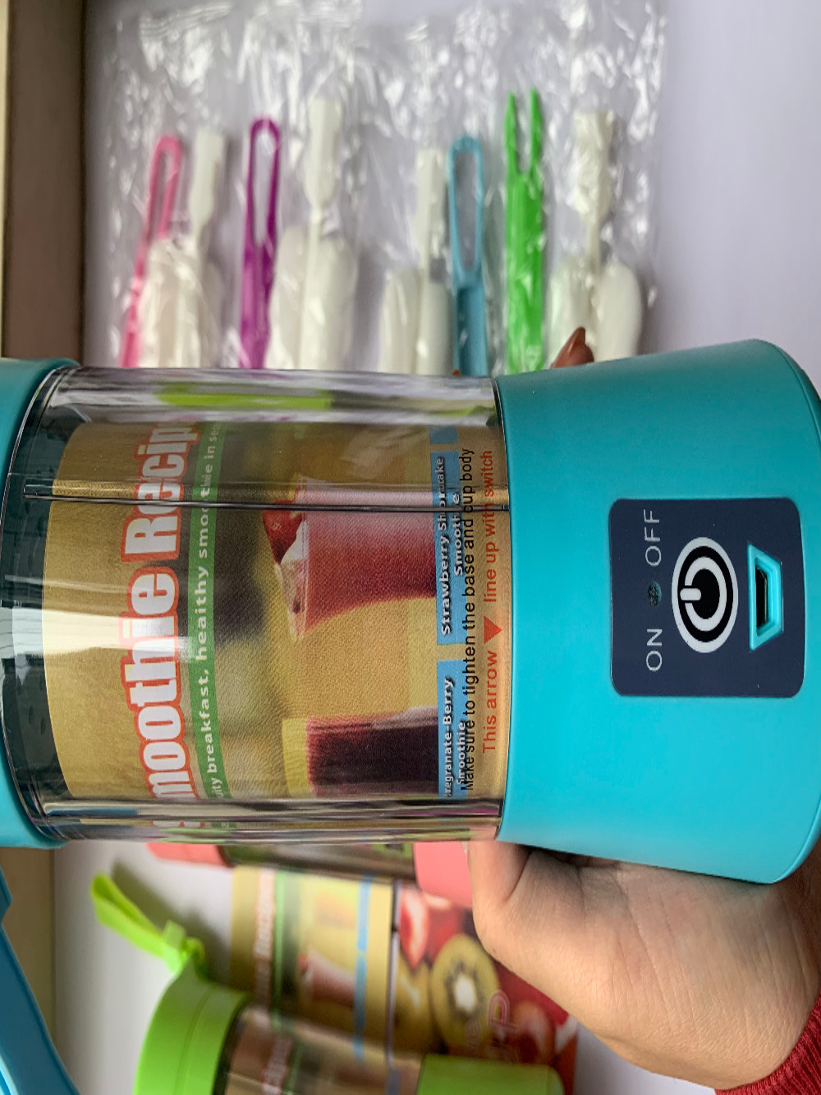 380ML Electric Juicer Cup Smoothie Blender Extractor USB Squeezers Fruit Citrus Lemon Orange Juicer Machine Bottle Juice Drop