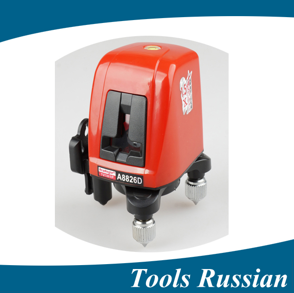 ship from Russia, A8826D better than AK435 360degree self- leveling Cross Laser Level 1V1H Red 2 line 1 point HOT SALE a8826d better than ak435 360degree self leveling cross laser level 1v1h red 2 line 1 point hot sale