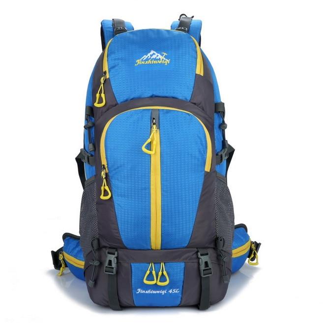 Outdoor Bracket Climbing Package Nylon Waterproof Anti tear Hiking font b Backpack b font Camping Sports
