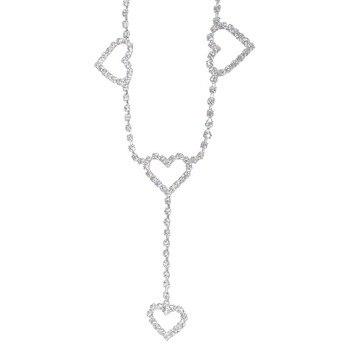 Flash Drill Heart Waist Chain Belts 1
