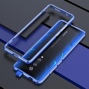 Image 4 - For Xiaomi Redmi K20 Pro Case Metal Frame Double Color Aluminum Bumper Protect Cover for Xiaomi Redmi K20 Mi 9T Pro Case