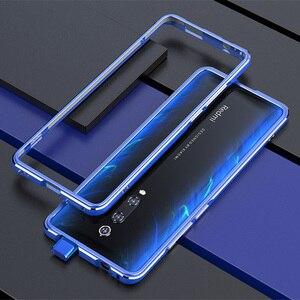 Image 4 - Voor Xiao mi rode Mi K20 pro CASE Metalen Frame Dubbele Kleur Alu Mi Num bumper bescherm Cover Voor Xiao mi rode Mi K20 mi 9 t pro case