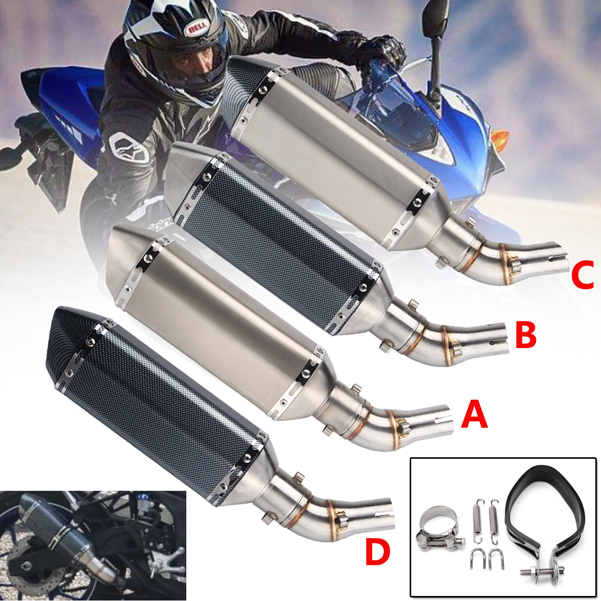 Motorcycle Exhaust Muffler Slip On Middle Pipe For YAMAHA R3 R25 MT03 2014-2018 Mid Link Pipe Pluse Exhaust Pipe Stainless Steel цена
