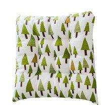 Открытый сад патио дома кухня офис диван стул сиденье мягкая подушка хлопок 400X400X50 мм зеленый лист сиденье Подушка YL5