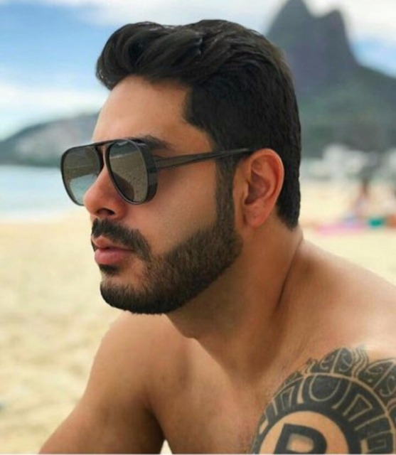 7a1e99b381896 MINCL 2018 designer de marca de Grandes Dimensões moda oval óculos de sol  masculino espelho