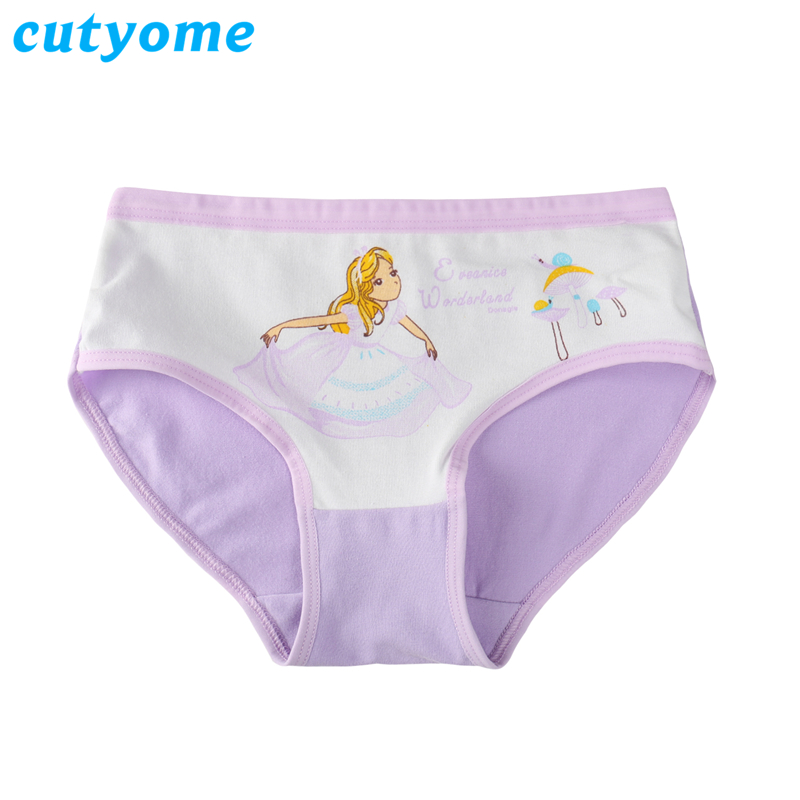 f568c0de85264 4pcs lot Cotton Briefs for Teenagers Toddlers Kids Underwears   Princess  Costumes Girls Panties Boxer Shorts Children Underpants-in Panties from  Mother ...