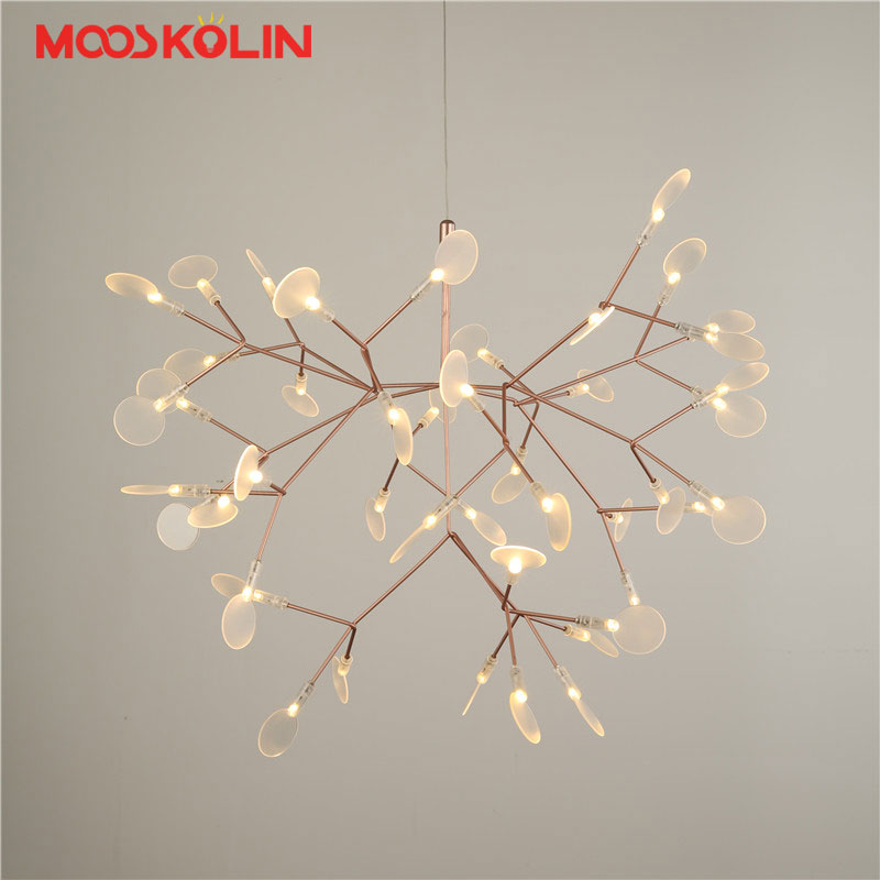 Nordic Modern LED Firefly Pendant Lights Fixture Flower Tree Branch Droplight Home Indoor Dining Room Restaurant Parlor Lighting modern circle tree branch led pendant light creative personality firefly dia 210cm nordic living room restaurant hall lobby lamp