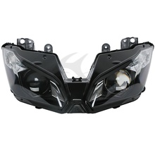 Headlight Head Light Lamp Assembly For KAWASAKI Ninja ZX-6R ZX6R ZX636 2013 2014