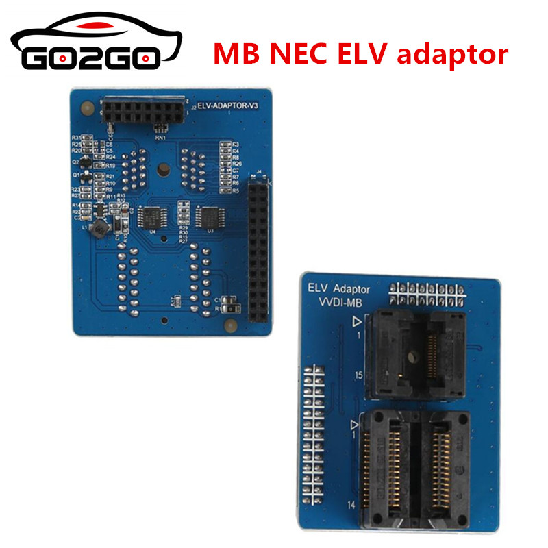 100% Origional VVDI MB NEC ELV adapter work together with MB BGA tool to reprogram key