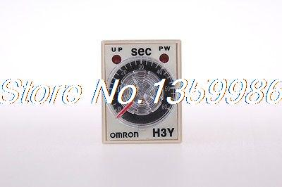10pcs  time timer relay 8pin H3Y-2 H3Y AC110V  5A   2.0-60Seconds 60S 10pcs time timer relay 8pin h3y 2 h3y dc24v 5a 0 2 5 0seconds 5s