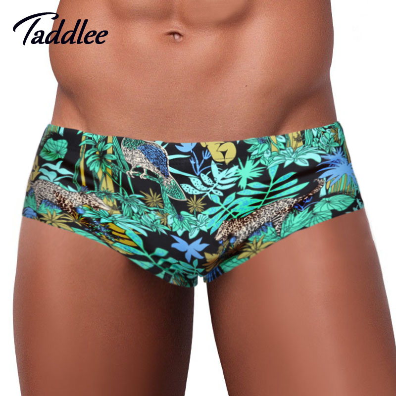 Taddlee Men Swimwear Bikini Swimsuits Swim Brief Board Shorts Surf Boxer Trunks