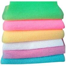 3 шт. нейлоновая сетка для ванны и душа для тела моющая чистая губка для отшелушивания чистящее полотенце моющее средство для чистки GQ999