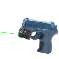 Drop shipping small size compact laser glock 17 5w green laser sight for subcompact pistol weapon laser