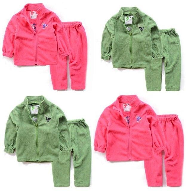 Костюм детей мальчик девочка внутри флисовой подкладкой внутри костюм весна осень зима костюм марки детей термобелье комплект