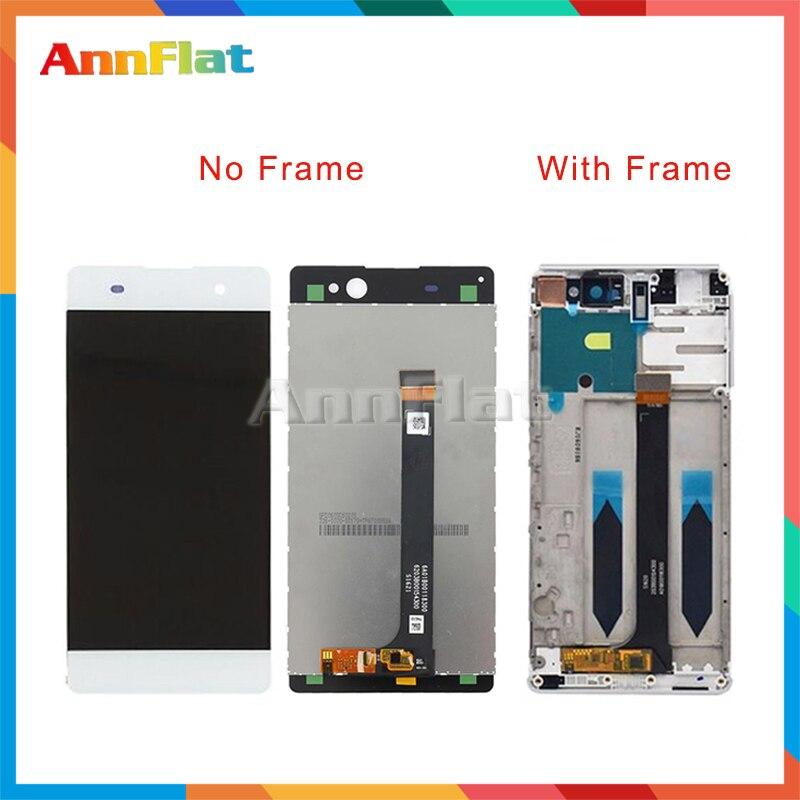 10 шт./лот Высокое качество 6,0 ''для sony Xperia C6 XA Ultra F3211 F3212 ЖК-дисплей Экран дисплея с Сенсорный экран планшета Ассамблеи