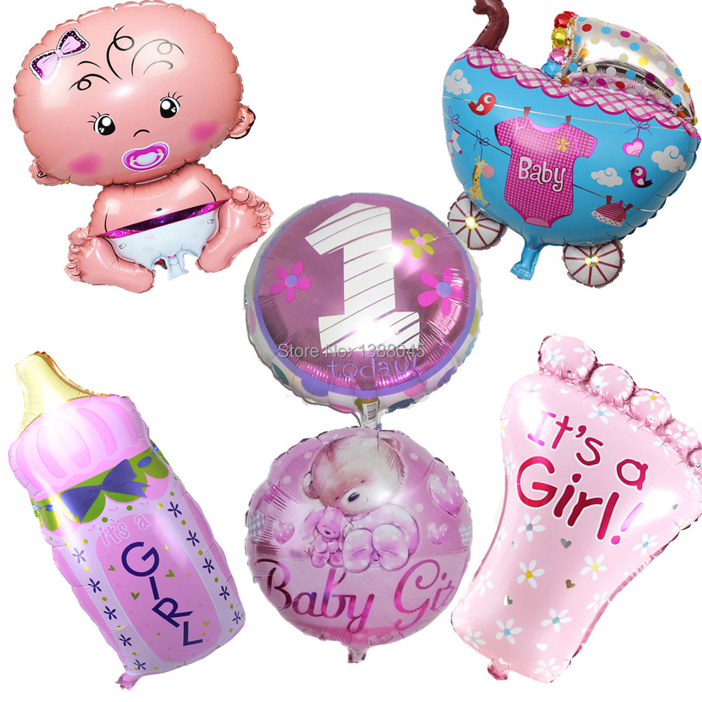 Online buy wholesale balloons supplier from china balloons for Baby boy birthday party decoration
