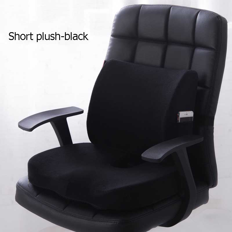 HTB1IAprXfWG3KVjSZFgq6zTspXaE Car Seat Cushion Coccyx Orthopedic Memory Foam Seat Massage Chair Back Cushion Pad Office Massage Cushion