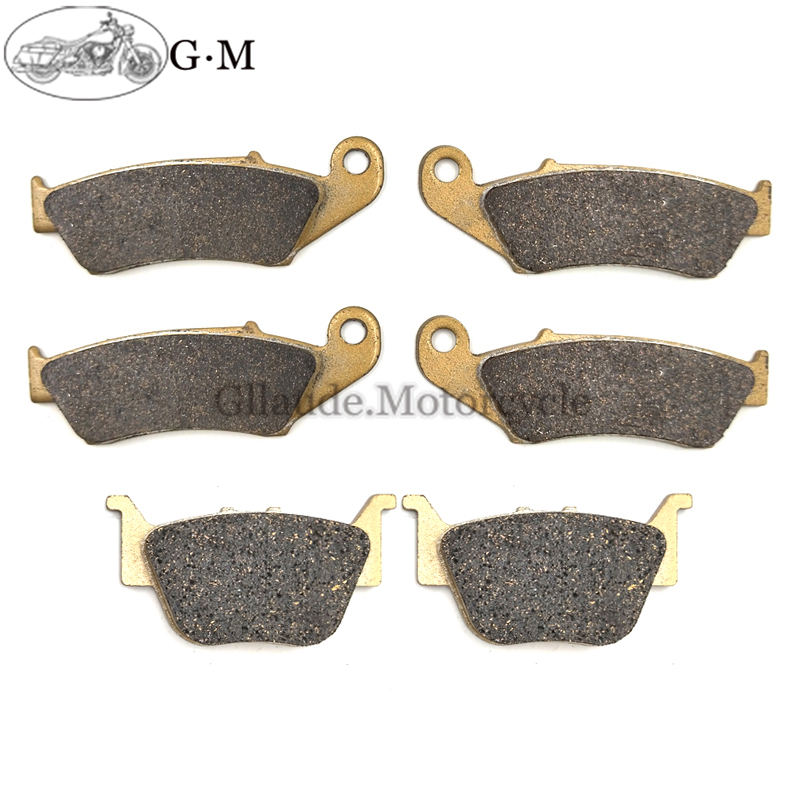 Motorcycle Front / Rear Brake Pads For Honda TRX 450 R/ER 2004 2005 2006 2007 2008 2009 2010 2011(China)