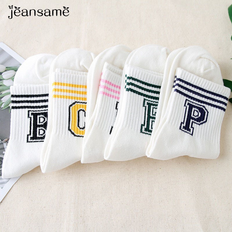Comfortable Cotton Socks Stylish Casual Breathable Short Blend Elastic Warm Wear Resistant Lady Thermal  Invierno Mujer Cute