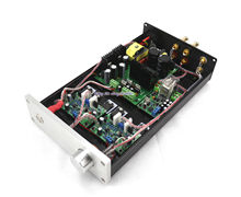 GZLOZONE Finished HIFI NAP250 MOD Stereo Power Amplifier 80W+80W Desktop Audio Amp