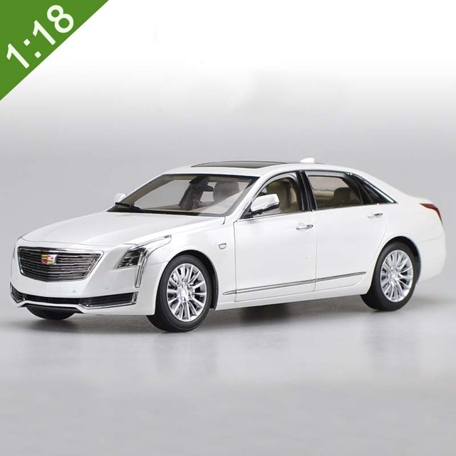 New 2016 Cadillac: New 1:18 Diecast Model For GM Cadillac CT6 2016 White Gray Alloy Toy Car Collection Gifts