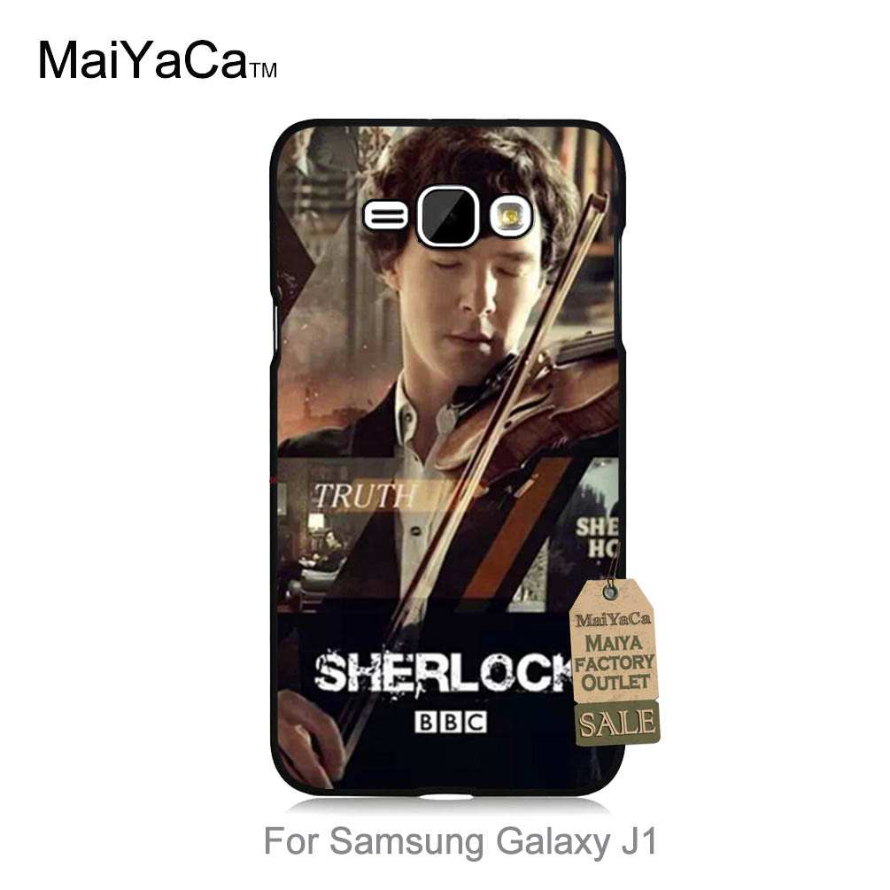 Maiyaca Хит продаж дизайн моды кожа тонкий корпус ПК для случая J1 2015 Шерлок плакат