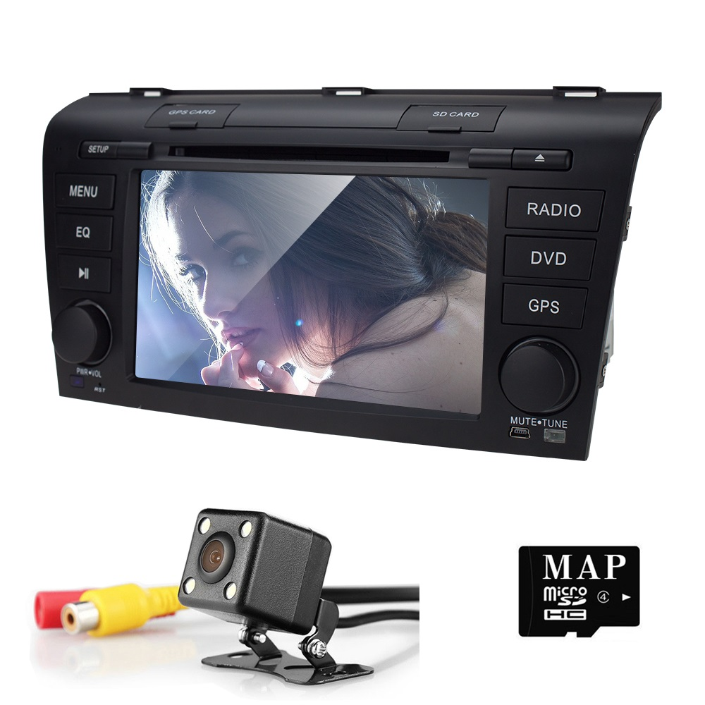 Head Unit Touch Screen font b Car b font DVD Player for Mazda3 Mazda 3 2004