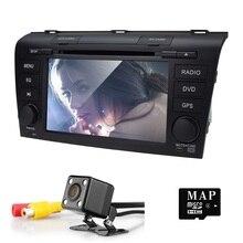 Головное устройство Сенсорный экран dvd-плеер автомобиля для Mazda3 Mazda 3 2004-2009 GPS навигации Системы 3 г USB Радио RDS CD SWC GPS радио карты