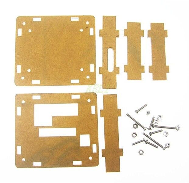 W1209 carcasa transparente acrílico caja cubierta transparente termómetro termo controlador (no incluye W1209)