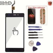 スマートフォン Doogee X5 X5S X5 プロフロントクラスタッチスクリーンデジタイザパネルアセンブリレンズセンサー接着スクリーンプロテクターギフト