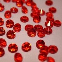 10000 unidades/pacote, tamanho 4.5 MM da Tabela Do Casamento de Diamante de Dispersão Cristais Confetti Gemas Casamento Decorações Multi-Cores Para Escolher