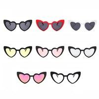 Heart Sunglasses Women brand designer Cat Eye Sun Glasses Retro Love Heart Shaped Glasses Ladies Shopping Sunglass UV400 Women's Sunglasses