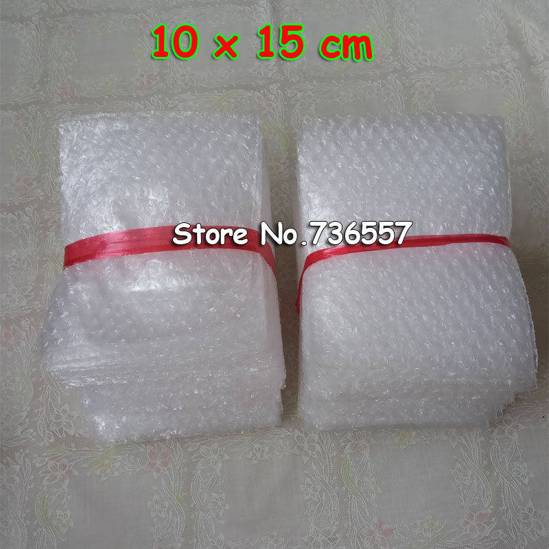 100pcs Free Shipping 10*15cm Bubble Bags New 100x150 Mm Bubble Envelopes Wrap Bags Pouches Packaging PE Mailer Packing Package