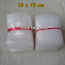 100pcs Free Shipping 10*15cm Bubble Bags New 100x150 mm Bubble Envelopes Wrap Bags Pouches packaging PE Mailer Packing package(China)