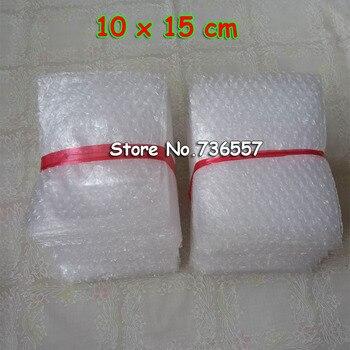 Sachets à bulles 10x15cm, 100 pièces, enveloppes à bulles 100 pochettes d'emballage de courrier PE, 150 x sac cadeau mm, livraison gratuite