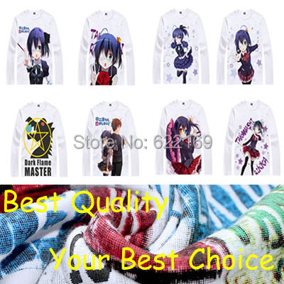 I Want to Be in Love anime sports t-shirt anime Rikka Takanashi cotton shirt Cosplay christmas halloween Costumes anime clothing