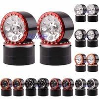 2020 Aluminum 2.2 Beadlock Wheel Rim Drive Hex 12mm 4pcs For RC 1/10 Model Rock Crawler Axial Traxxas HPI 2020