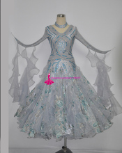 Ballroom Waltz Competition Dance Dresses Lady's New Arrival Hgih Quality Stage Standard Tango Ballroom Dancing Dress