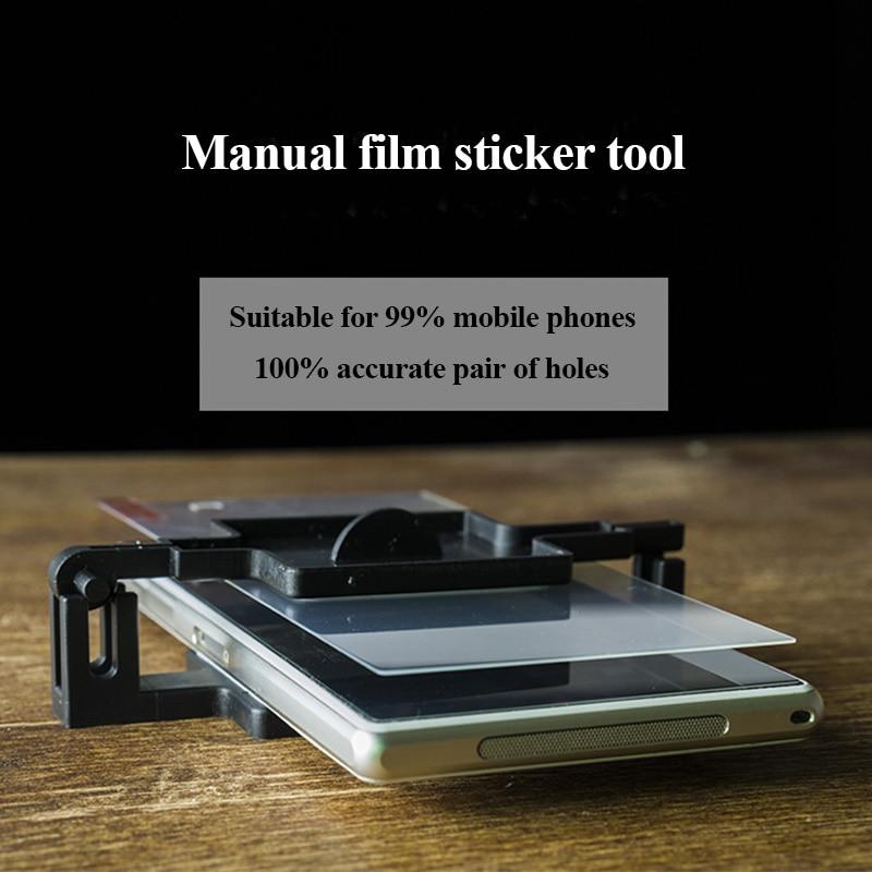 Wozniak Manual Screen Protector Attach Machine For Smartphone For Iphone For Samsung DIY Universal Screen Film Machine Free Ship